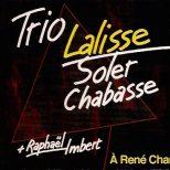 À René Char – étui CD